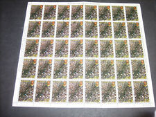 Nicaragua 1980 Revolution anniversary 1cor85 Used Full Complete Sheet #S373