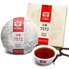 7572 Menghai Dayi Puerh tea cake 150g Pu Erh 2015 year Puer Ripe Tea