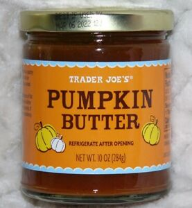 Pumpkin Butter Authentic 10oz (284g) Spread seasonal edition by Trader Joe's NEW