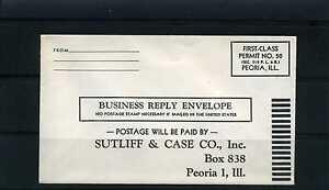 SUTLIFF & CASE CO., Inc ,-Cover PEORIA 1  ILL.  U.S.   50s