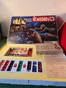 Vintage Escape from Colditz Board Game Parker Games Original 1973