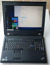 Lenovo Thinkpad W700 Core 2 Duo 2.53GHz 1 TB HDD 8GB RAM BLUETOOTH 1920 by 1200