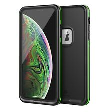 For Apple iPhone Xs X Waterproof Case Cover Fre with Built-in Screen Protector