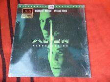 Alien Resurrection Weaver Ryder Film Laser Disc Large DVD LaserDisc Original