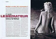 COUPURE DE PRESSE CLIPPING 1998 MARILYN MONROE  (6 pages)