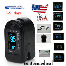 Finger Tip Pulse Oximeter SpO2 Heart Rate monitor blood oxygen Meter Sensor, FDA