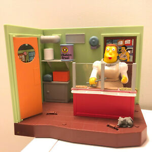SIMPSONS WOS SPRINGFIELD ELEMENTARY CAFETERIA PLAYSET