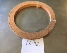WOVEN BRAKE BAND SHOE MATERIAL 1X3/16 HIGH FRICTION NEW NON ASBESTOS FORD
