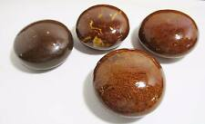 4 Brown Marbled Ceramic Door Knobs Arts & Crafts Paperweight For Decoration Knob