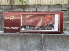 G Scale Pennsylvania Rail Road Flat Car with Closed Trailer Bachman 98314