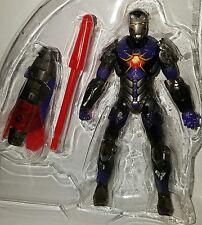"Marvel Universe IRON MAN 3.75"" Figure Sonic Storm Armor #45 Concept Series"