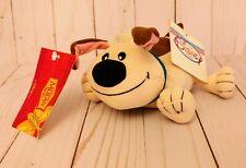 Vintage Disney Store Mulan Dog Little Brother Bean Bag Plush w/ Tags