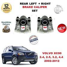 FOR VOLVO XC90 2.5T T6 3.2 V8 D3 D5 2002-12 REAR LEFT + RIGHT BRAKE CALIPERS SET