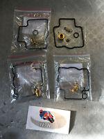 KAWASAKI ZZR600 ZXR750 ZX7R ZX9R 4 CARBURETTOR CARB REPAIR KITS