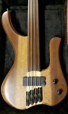 fretless handmade 4 strings mgbass pickup emg or Bartolini