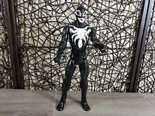 "12"" HASBRO MARVEL 2016 VENOM HERO MARVEL SPIDER-MAN ACTION FIGURE AVENGERS"