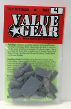 1/72 Scale Resin Tent, Tarp & Crates Stowage Set #4 - Value Gear Resin Stowage
