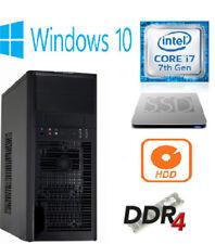 Tower Intel Core i7 7th Gen. Desktop & All-In-One PCs
