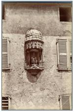 ND, France, Ancienne Abbaye de La Chaise Dieu. Notre Dame de Pitié  Vintage albu