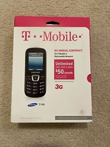 T-Mobile Samsung SGH T199 Prepaid No contract 3G Cell Phone New In Box