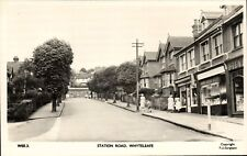 Whyteleafe near Warlingham & Coulsdon. Station Road # WEE.3 by Frith.