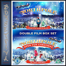 NORTHPOLE & OPEN FOR CHRISTMAS   - DOUBLE MOVIE COLLECTION  *BRAND NEW DVD***