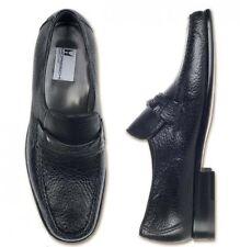 Moreschi Men's Amburgo Peccary Shoes Black - Size 9.5 USA  *New In Box*