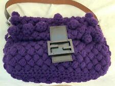 Authentic Fendi Baguette Knit Handb
