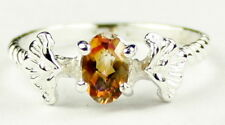 Twilight Fire Topaz, 925 Sterling Silver Ladies Ring, SR192-Handmade