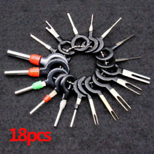 18x Car Wire Harness Plug Terminal Extraction Pick Connector Pin Remove Tool /bw