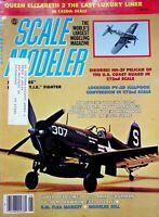 Vtg Scale Modeler Magazine June 1982 Vought F4U-4 Corsair m102