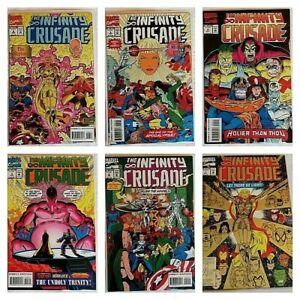 °INFINITY CRUSADE 1 bis 6 von 6° US Marvel 1993 Die Fortsetzung von INFINITY WAR