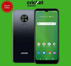 Brand New Cricket Ovation from Cricket Wireless 32 GB Triple Rear Camera!!