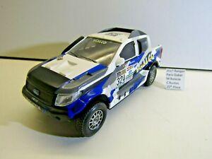IXO ? 1:43 Scale Die-cast 2017 Ford Ranger Dakar Rally M.Bulacia / C.Bustos 20th