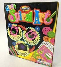 Creative Kids Neon Spiral Art Kid New Sealed