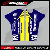 HUSQVARNA TC 2014 TE/FE 2014-015 LOWER FORK DECAL MOTOCROSS MX GRAPHICS TEAM