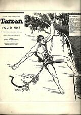 RARE EO AMÉRICAINE BD REX MAXON FOLIO N° 1 1969 + TARZAN AND THE RIVER PIRATES
