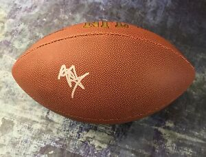 GFA Minnesota Vikings RC Quarterback KELLEN MOND Signed NFL Football K1 COA