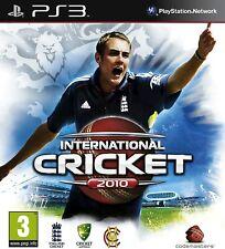 International Cricket 2010 PS3 Playstation 3 **FREE UK POSTAGE!!** No manual