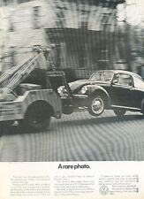1971 Volkswagen VW Beetle Bug - tow truck - Classic Vintage Advertisement Ad H83