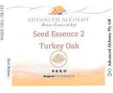 Seed Essence #2 Hidden Creative Potential - Advanced Alchemy 25ml Turkey Oak