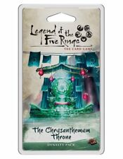 The Chrysanthemum Throne Dynasty Pack Legend Of The Five Rings Card Game L5C05