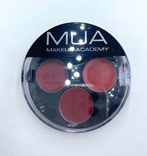 Pintalabios rojo tres tonos nuevos sin uso marca MUA mujer maquillaje cosméticos