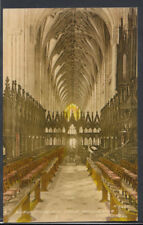Hampshire Postcard - Rufus Tomb & Choir, Winchester Cathedral     RS8865