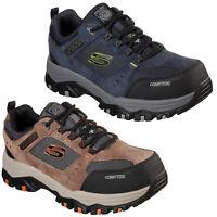 Skechers Work: Greetah Comp Toe Mens Safety Shoes Waterproof Composite Trainers