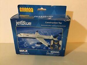 jetblue best lock construction toy airplane pilot