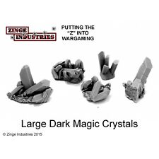 Zinge Industries Dark Magic Crystals Set of 5 Various Large Scenery Bits S-CRY02