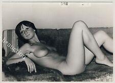 Tall & slim young nude woman/MINCEUR nue jeune femme * vintage 70s photo