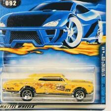 "2001 Hot Wheels #092 Yellow '67 Pontiac GTO Hippie ""Seires"" ERROR Card RARE"