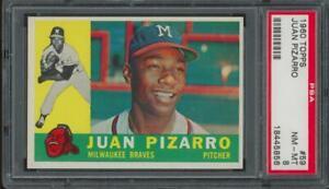 1960 Topps #59 Juan Pizarro Near Mint PSA 8